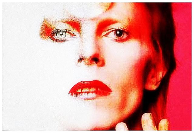 David Bowie Unveils New Album Artwork