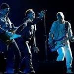 U2 on stage
