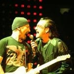 U2 guest list