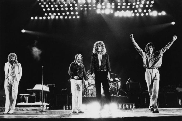Led Zeppelin Drop An Epic Remaster Of 'Rock And Roll'!