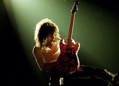 Van Halen Gifts 75 Guitars To Low Income Schools.
