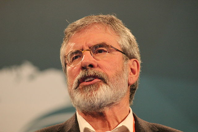 Gerry Adams New Cook Book Has Got An Interesting Title!