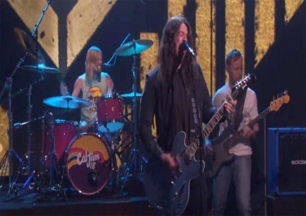 Foo Fighters Ellen