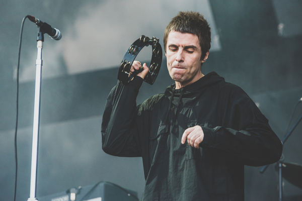 Watch: Liam Gallagher Squabbles With Security And Stops Show