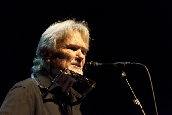 Kris Kristofferson Is On His Way To The Olympia