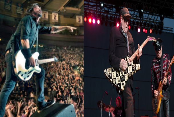Foo Fighters Jammed With Cheap Trick Legend Rick Nielsen On Stage!