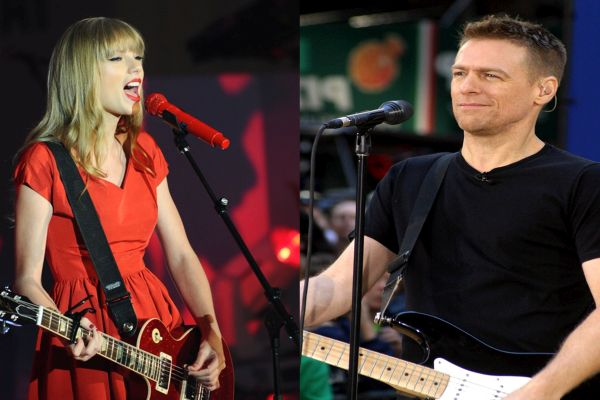 Video: Bryan Adams Joins Taylor Swift To Rock 'Summer Of 69'!