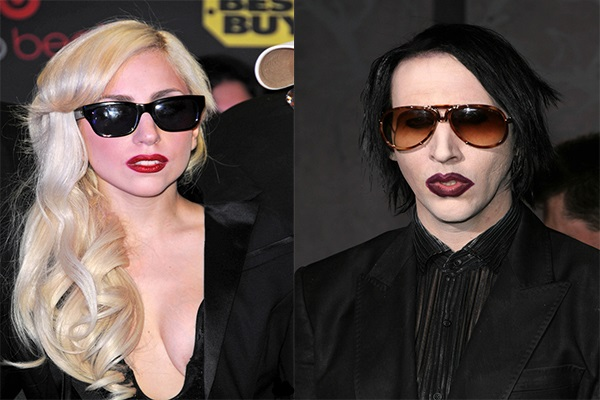 Photos: Are Marilyn Manson And Lady Gaga Collaborating?