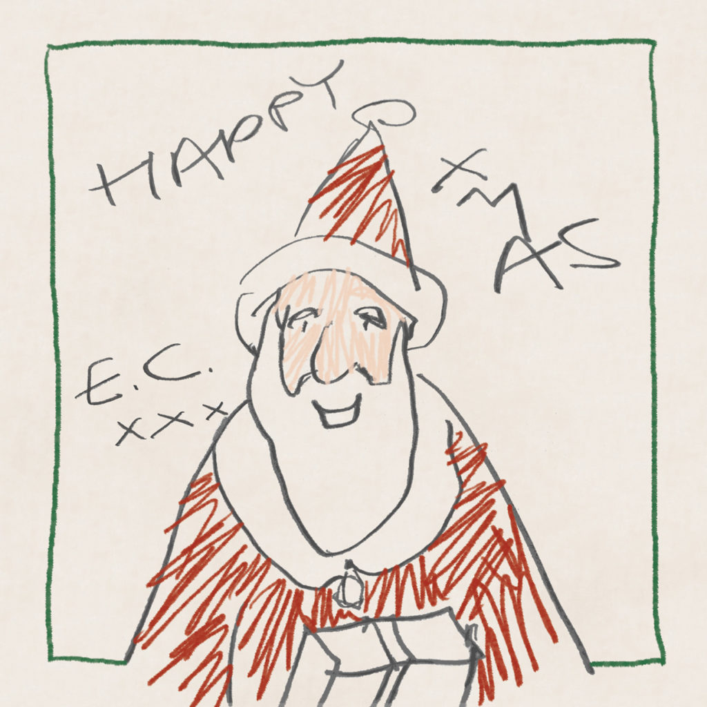 Christmas Album Cover Art.Eric Clapton Has Made A Christmas Album The Cover Artwork