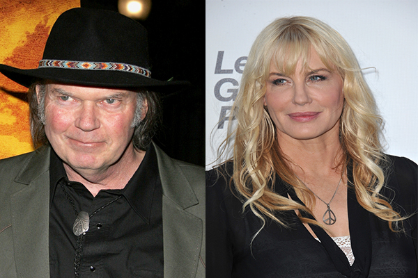 Neil Young and Daryl Hannah Have Gotten Married!
