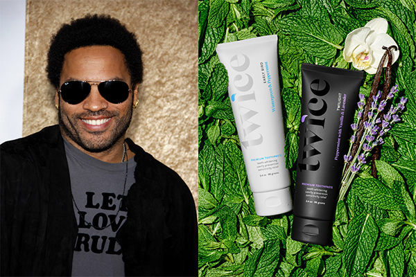 Lenny Kravitz Has Created His Own Toothpaste!