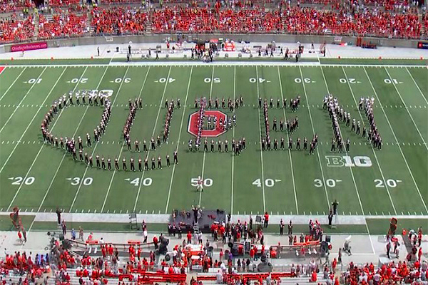 Watch A Marching Band's Excellent Tribute To Queen!