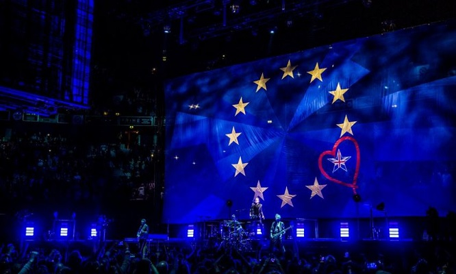 Bono Delivers Moving Brexit Speech At London Show