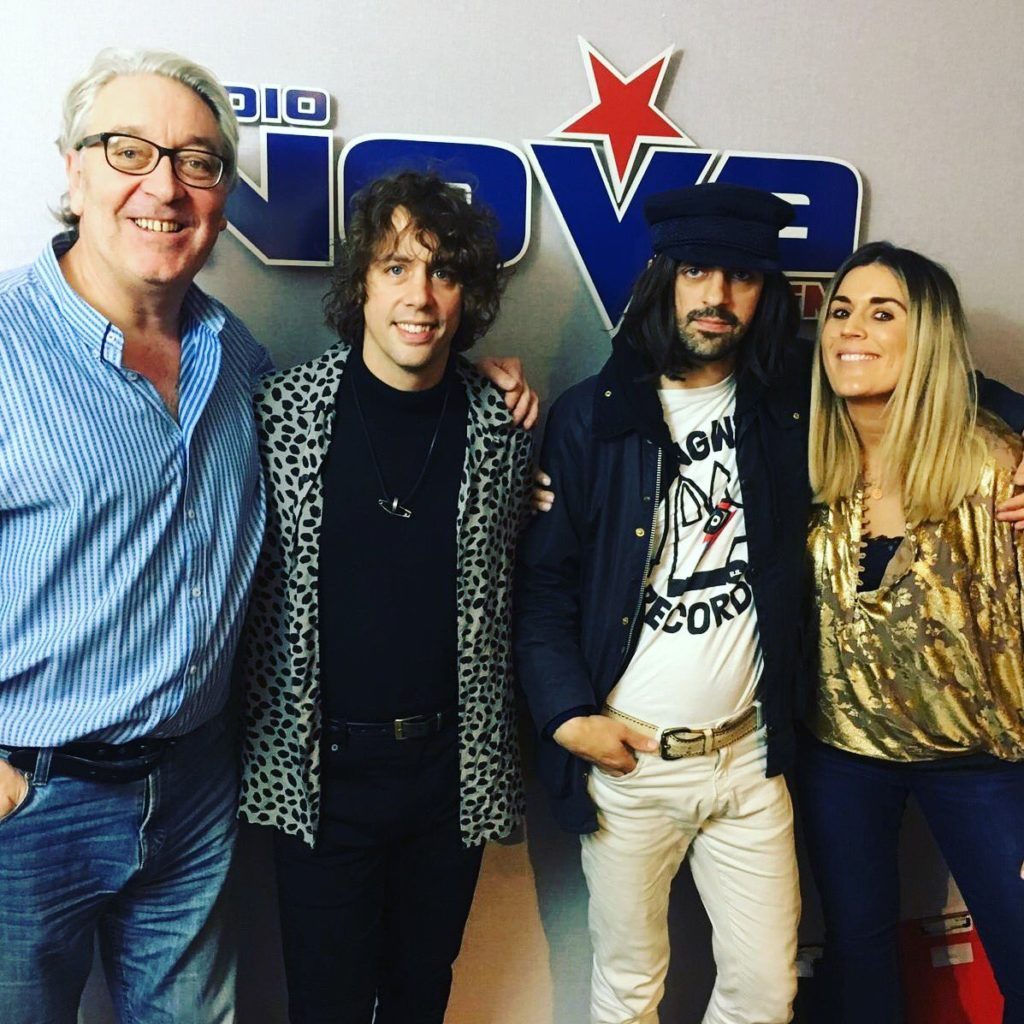 Colm & Lucy with Razorlight