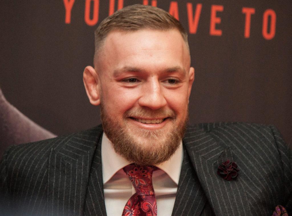 Conor McGregor Fined €1000