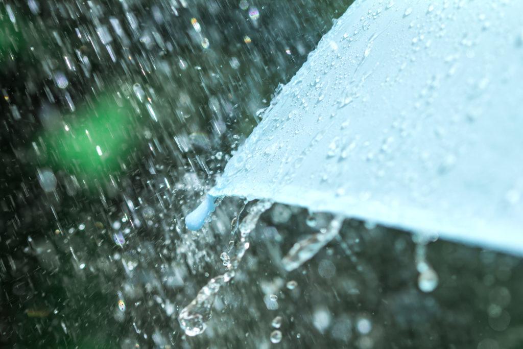 Status Yellow Rainfall Warning
