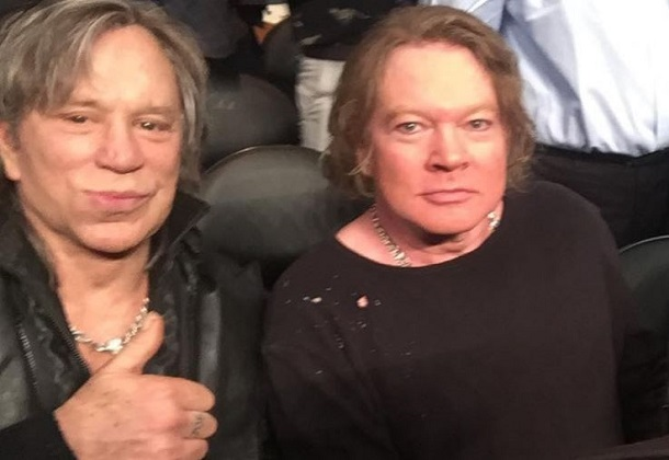 Watch: Local TV Station Celebrates Axl Rose And Mickey ...
