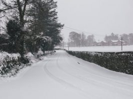 Snow And Ice Causing Disruption