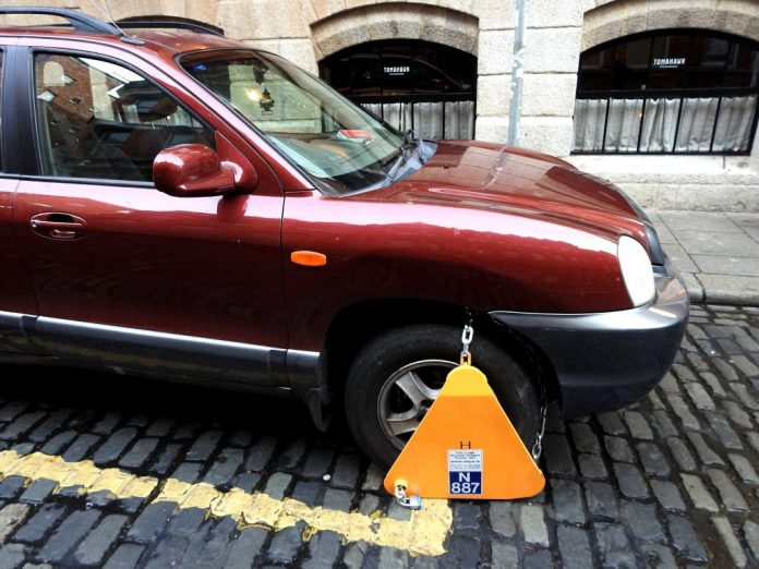 South Circular Road Worst Spot For Clamping