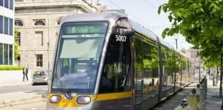 Green Luas Line Rerouted
