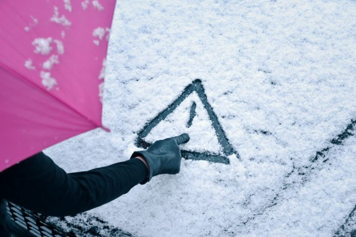Met Eireann Issues Snow & Ice Warning