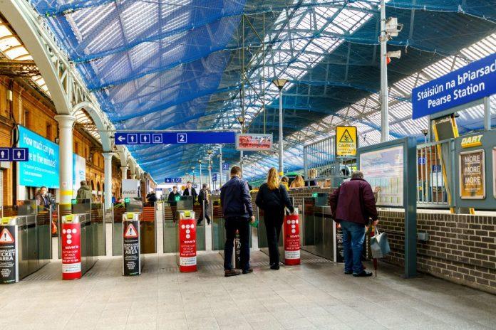 Pearse Station Shut