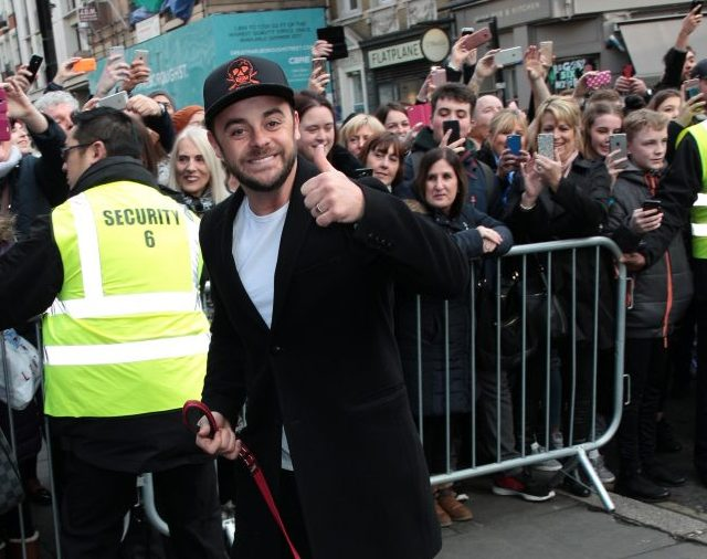 Ant McPartlin Back To Work