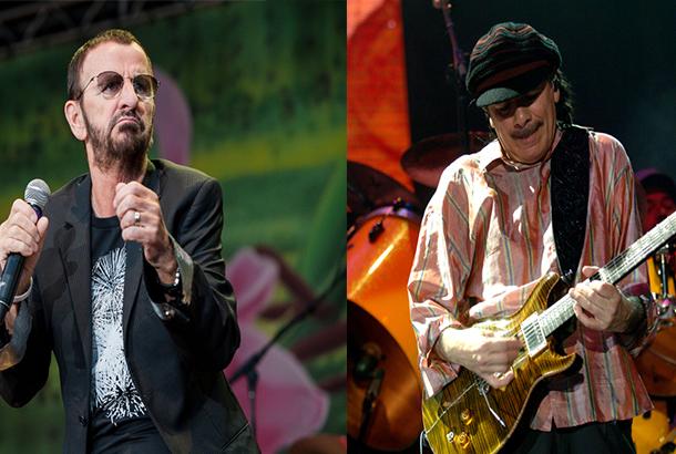 Ringo Starr And Santana Set For Woodstock 50th-Anniversary Show
