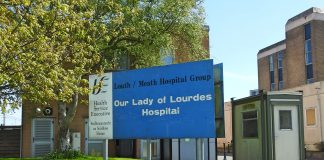 Lady of Lourdes Hospital in Drogheda