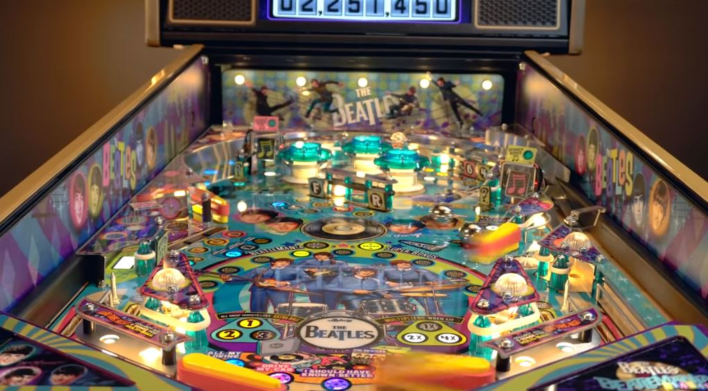 Video: Limited Edition Beatles Pinball Machine To Debut At