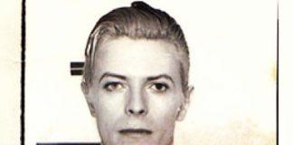 David Bowie Mugshot