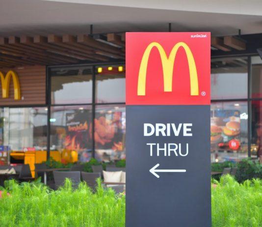 McDonald's Personalised Drive-Thru Menu