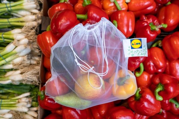 Green Conscious Lidl Launch Reusable Bag For Loose Fruit & Veg