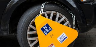 Nearly 130 Cars Clamped Everyday