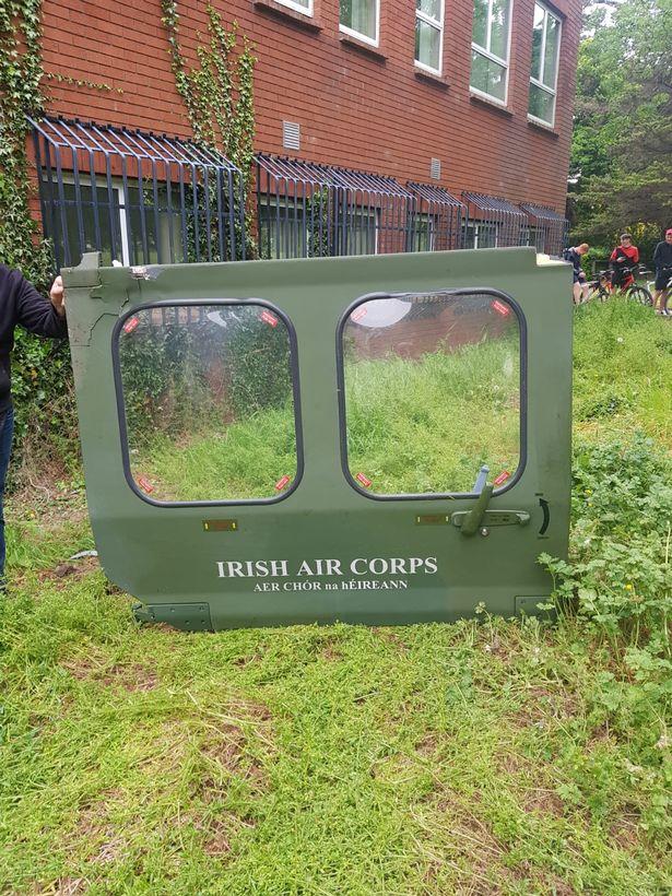 Helicopter-Door