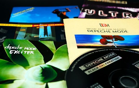 """DEPECHE MODE'S 12"""" VINYL SINGLES COLLECTION CONTINUES WITH SONGS OF FAITH AND DEVOTION"""
