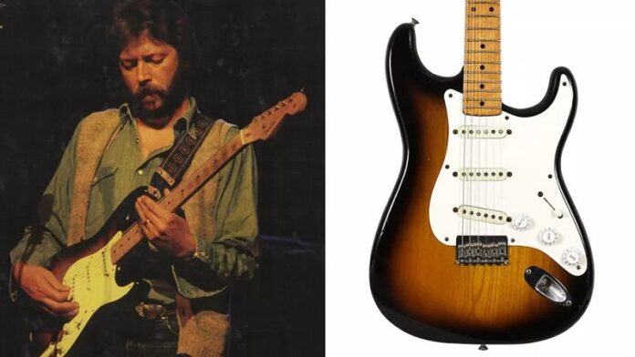 Eric-Clapton-Guitar-Goes-On-Sale-At-Auction