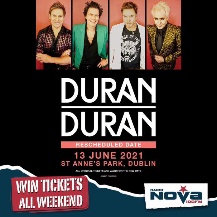 Win Your Way To See Duran Duran Live In Dublin Next Summer