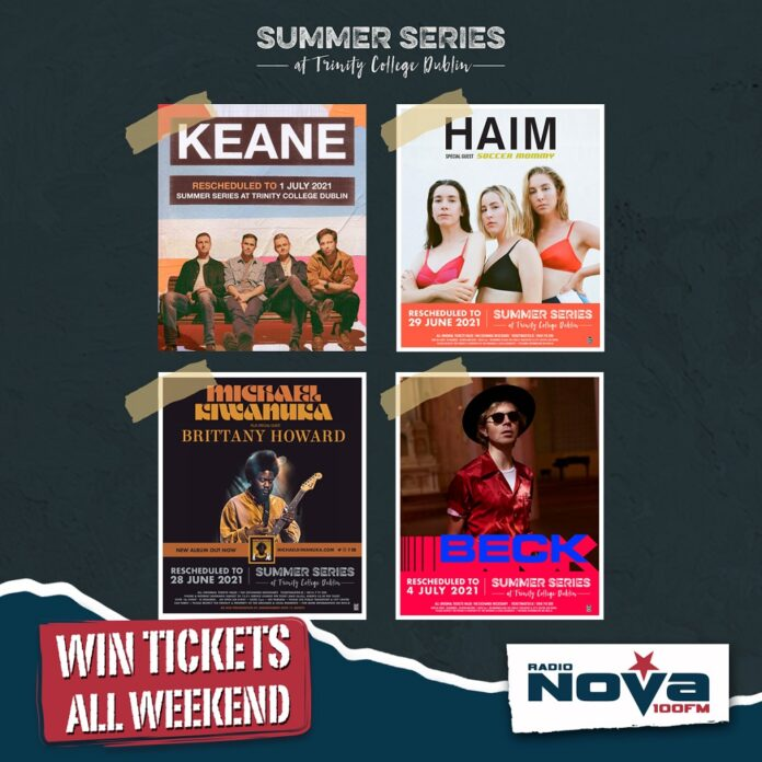 Win Your Way To Trinity Summer Series 2021 This Weekend On NOVA