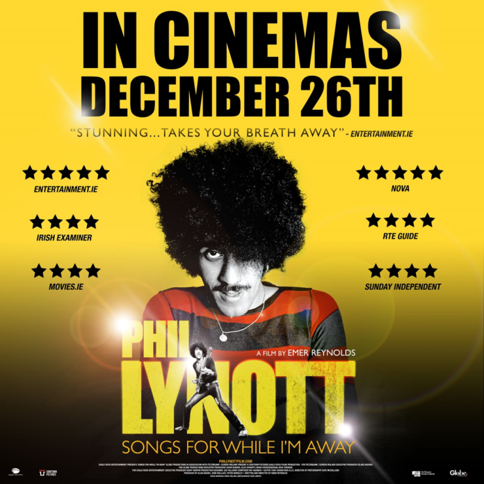 WIN Tickets To An Exclusive NOVA Screening Of Phil Lynott: Songs For While I'm Away At Stella Cinema