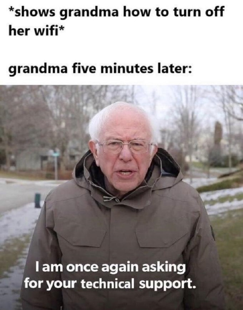 Bernie Sanders Has Commented On His Memes From Inauguration Day