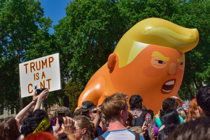 Donald Trump Baby Blimp Set To Retire To Museum Of London