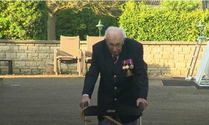 Captain Sir Tom Moore Has Been Admitted To Hospital With Coronavirus