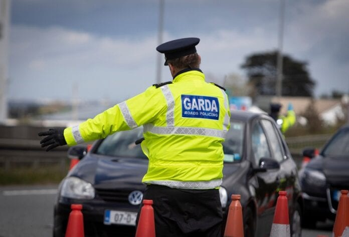 Gardai-Break-Up-Longford-House-Party.