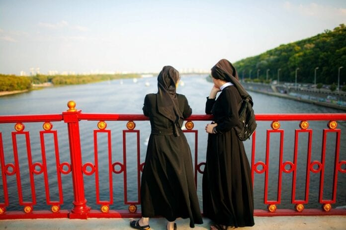 Nuns-Break-Covid-19-Regulation-For-Exorcism