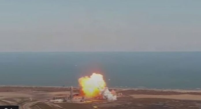 SpaceX-Rocket-Bursts-Into-Flames