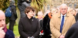 Arlene-Foster-Suggests-UK-Should-Give-Surplus-Vaccines-To-Ireland