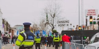 People Asked To Stay At Home As Large Garda Presence In Place For St Patrick's Day