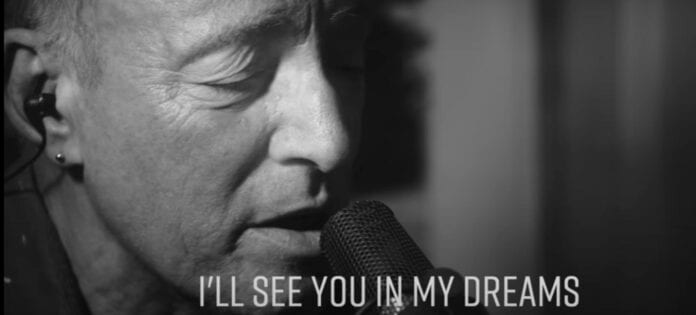 Bruce Springsteen Has Shared A New Lyric Video For 'I'll See You In My Dreams'