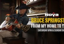 Bruce Springsteen Returns To The Airwaves Tonight With His Very Own Show On NOVA